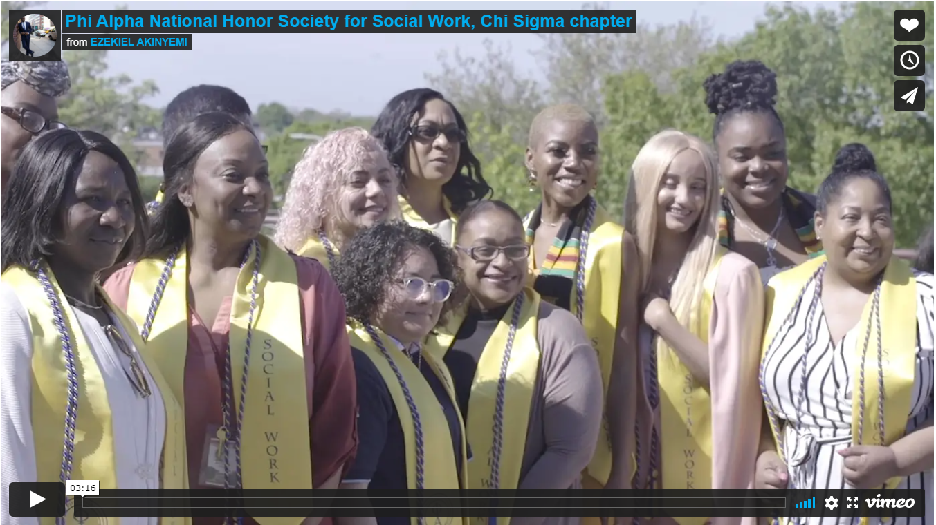 Phi Alpha National Honor Society for Social Work, Chi Sigma chapter